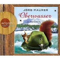 JÖRG MAURER - OBERWASSER: ALPENKRIMI 5 CD HÖRBUCH KRIMI/THRILLER  NEU