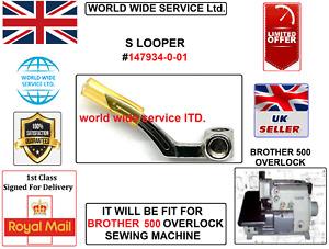 BROTHER 500-SERIES OVERLOCK UPPER S LOOPER #147936-001 INDUSTRIAL SEWING MACHINE