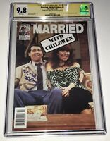 ED O'NEILL Married With Children #2 CGC 9.8 Signed Signature Series Comic