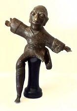 RARE & UNUSUAL Old Bronze Figurative Sculpture (South Asian?)