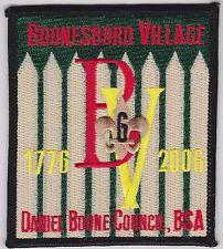 Daniel Boone Council - Patch Boonesboro Village 2006