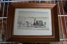 Framed Bernard Goldsmith Picture Co. 1953 mid century  Frame 10x8""
