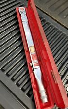 "Snap-on TQFR 250 Torque Wrench, 1/2"" Drive With Case"