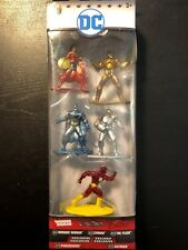 New DC Nano Metalfigs: Wonder Woman, Cyborg, Flash, Parademon & Batman Figures!