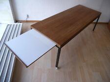 60er Teak Metall Couchtisch Coffee Table  Beistell Tisch Mid Century Wäckerlin
