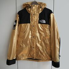 Supreme The North Face Metallic Mountain Parka Gold Small