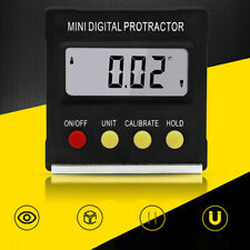 Magnetic Inclinometer Angle Ruler Level Protractor Gauge Mini Electronic Digital