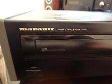 Marantz CD10 CD Player Black Vintage Top Stereo