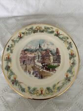 Lenox New W/Tags 2002 Villages Around The World Collector Plate Netherlands