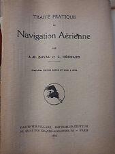 Traité pratique de navigation aérienne - Edition 1950