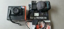 Sony Cyber-shot DSC-RX100iii  20.1 MP Digitalkamera - Schwarz