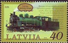 Latvia 2010 Railway, Transport, Trains, Locomotives MNH**