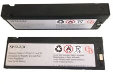 PS-1223V  SP12-2.3C 12V 2.1/2,3Ah AGM Compatible Powersonic, Long, Panasonic