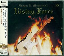 RISING FORCE Remastered 2012 SHM CD by YNGWIE J. MALMSTEEN - Jeff Scott Soto