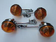 Lucas Turn Signal Front Rear Set 54057567 60-4104 54057553 60-4105 Triumph Bsa