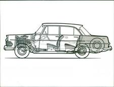 Opel Rekord Coupé drawing - Vintage photograph 3171245