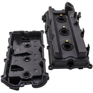 2x Valve Cover W/ Gaskt For Nissan Frontier Pathfinder Xterra NV1500 NV2500 4.0L
