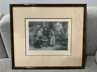 Antique G. Smith G. Greatbach Engraving Print The First Day of Oysters