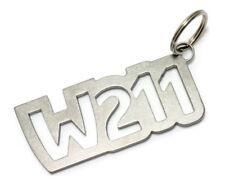 Benz W211 Schlüsselanhänger Edelstahl E-Klasse S C A V VF 124 DUB
