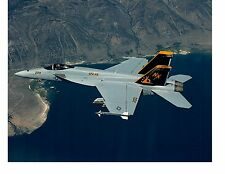 Boeing F18C Hornet VFA115 Navy Fighter Aircraft Photo 8x10 Cdr JR Penfield 2003