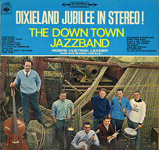 """THE DOWN TOWN JAZZ BAND """"DIXIELAND JUBILEE IN STEREO"""" JAZZ 60'S LP CBS 52339"""