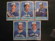 1985 OPC Toronto Blue Jays Insert Posters - 5, Martinez, Fernandez, Bell, Stieb