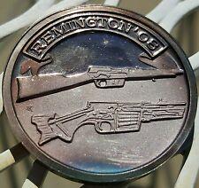 Rare NRA Remington '08 Rifle .999 Silver Medal 4,000 Minted John Browning Unc.