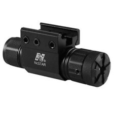 NcStar APRLSMG Pistol & Rifle Green Laser w/ Weaver Mount and Pressure Switch