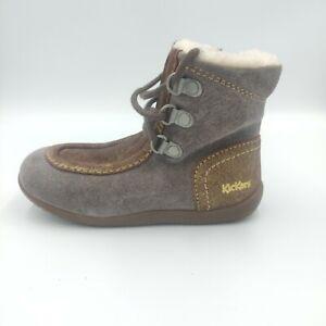 Kickers Girl Infant Boots Winter Bamara Warm Snow Casual Fashion 571930-10-9
