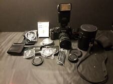 Konica ft-1 camera With Sigma 28-85mm Lens & Accessories