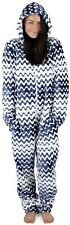 CityComfort All in One Pyjamas Soft Fleece Hooded Jumpsuit for Womens