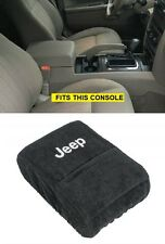 2005 - 2010 Jeep Grand Cherokee Center Console Cover with Jeep Logo AND pocket