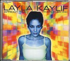 LAYLA kaylif-albicocca time 4 TRK CD MAXI video 1999
