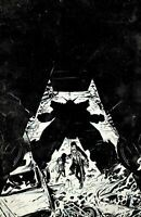 Crossover #3 Cover E Geoff Shaw Raw B&W Sketch Virgin Variant 1:25 Image Comics