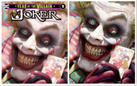 JOKER YEAR OF THE VILLAIN #1 RYAN BROWN EXCLUSIVE A/B SET PRESALE 10/9