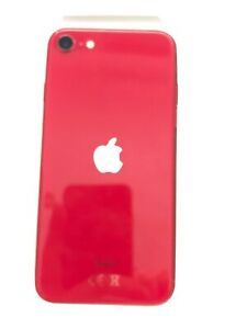 Apple iPhone SE 2nd Gen 2020 64GB Good Condition - Faulty Keyboard- Red - Three