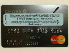 Chase Ink Business Account Collectable Expired Credit Card w/ Sticker Exp. 05/14