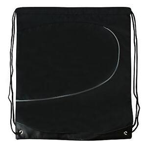 Backpack Waterproof Drawstring Bag Gym School Swim PE Swimming backpack Black