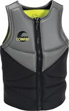 Connelly TEAM NEO Mens Competition Wakeboard/Ski Vest Size Large Grey Black NEW