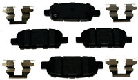 Disc Brake Pad Set-Ceramic Disc Brake Pad Rear ACDelco Advantage 14D1288ACH
