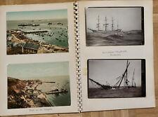 Helgoland Foto- Ansichskarten- Album, Fotos, Postkarten, Zeitungsausschnitte