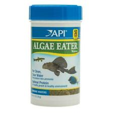 API Algae Eater Wafers 105g Sinking Tropical Fish Food Catfish Plecos Wafer Disc