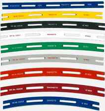 Full set OO/HO Tracksetta Track Laying Templates, straight & curves - free post