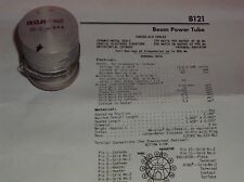 Vintage Rca 8121 85-13 Ham Radio Rf 11 Pin Beam Power Tetrode