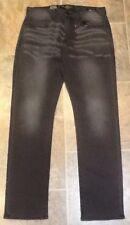 Lucky Brand 121 Heritage Slim Straight Black Handcrafted 31 X 32 Denim Jeans New
