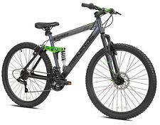 "Men's 26"" Full Suspension Aluminum Frame Mountain Bike 21-Speed Boys Bicycles"