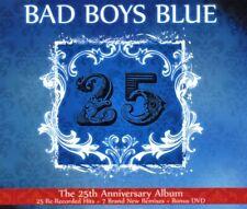 "BAD BOYS BLUE ""25"" 2 CD+DVD NEW"