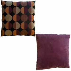 Set of Two Cushion Covers 20 x 20 in