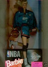 Detroit Pistons NBA Barbie Doll      MIB       (B2)