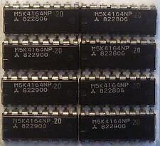 DRAM 64kx1 Dynamic RAM 64k x 1 200ns M5K4164NP-20 8 pieces